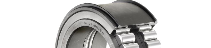 Цилиндрические роликоподшипники для шкивов