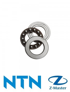 51100 Шариковый упорный подшипник с кольцами NTN