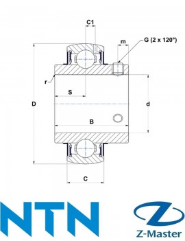 UC213D1 подшипник NTN